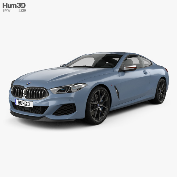 BMW 8 Series (G15) M850i Coupe 2019 3D Model