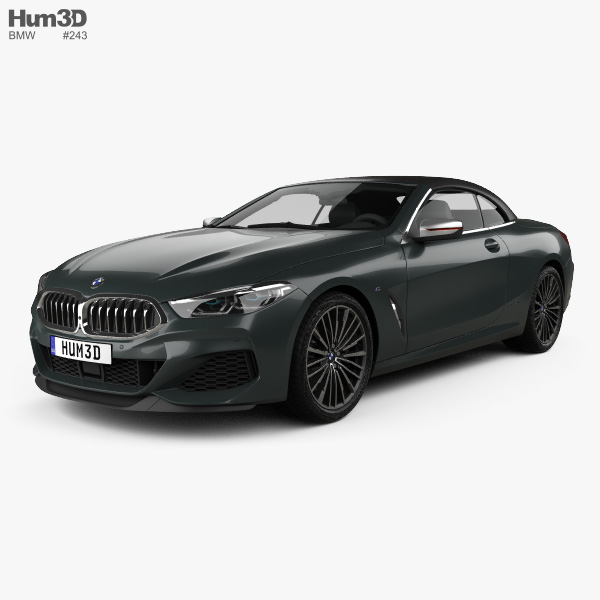 2019 Bmw 2 Series: BMW 8 Series M850i Convertible 2019 3D Model
