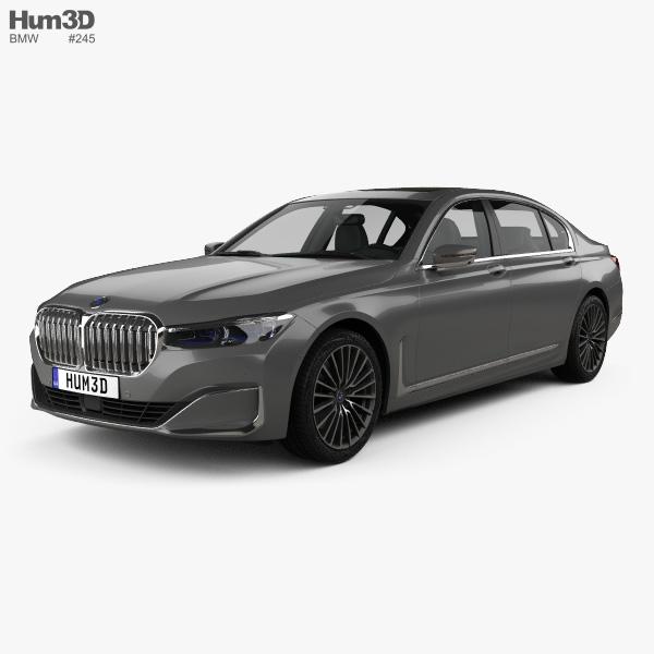 BMW 7-series L 2019 3D Model