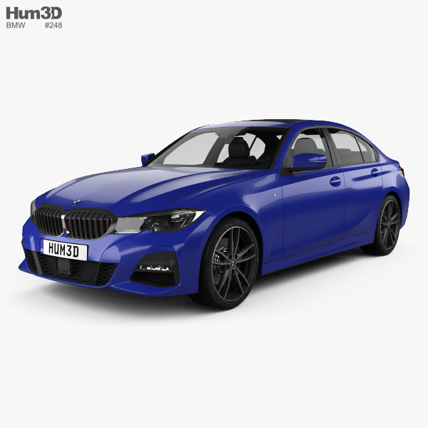 2019 Bmw 2 Series: Cars With Interior 3D Models Download