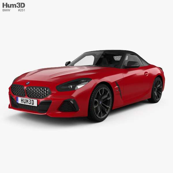 Bmw Z4 M Coupe Interior: BMW Z4 M40i First Edition Roadster With HQ Interior 2019