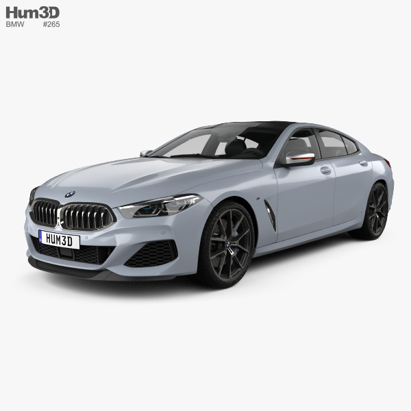 Bmw 3 Series G20 M Sport Sedan 2019 3d Model: BMW 8 Series (G16) GranCoupe M-sport 2019 3D Model