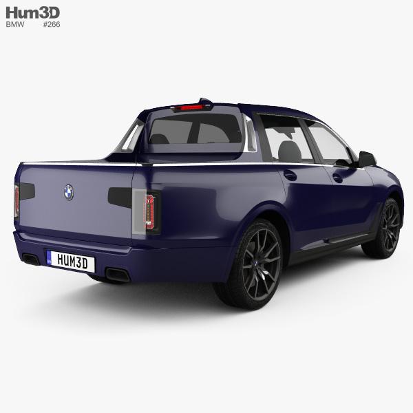 Bmw X7 Pick Up 2019 3d Model