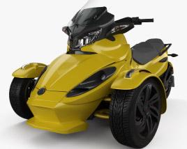 BRP Can-Am Spyder ST 2013 3D model