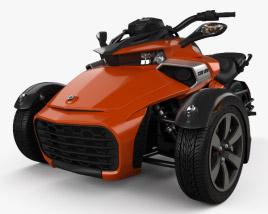 BRP Can-Am Spyder F3 2015 3D model
