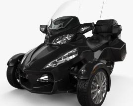 BRP Can-Am Spyder RT 2014 3D model