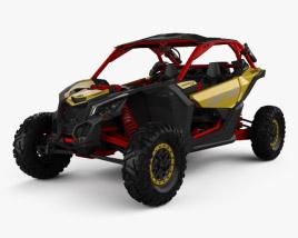 BRP Can-am Maverick X3 XRS with HQ interior 2017 3D model