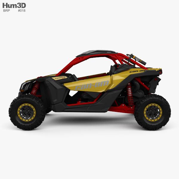 Brp Can Am Maverick X3 Xrs With Hq Interior 2017 Model