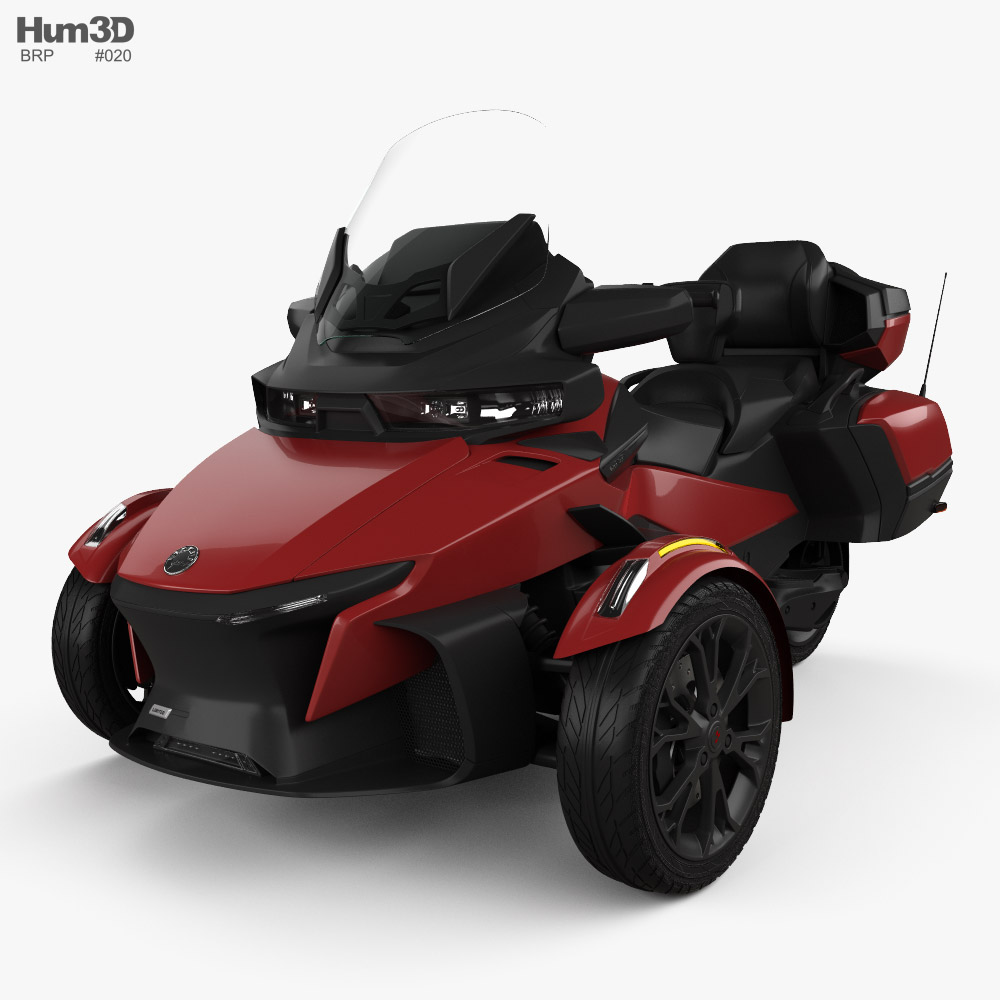 BRP Can-Am Spyder RT 2020 3d model