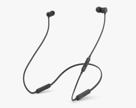 Beats BeatsX Black 3D model