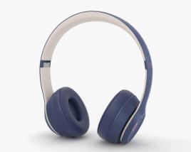 Beats Solo 3 Wireless Navy 3D model