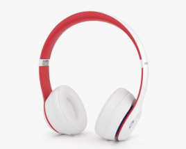 Beats Solo 3 Wireless White 3D model