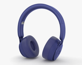Beats Solo Pro Dark Blue 3D model
