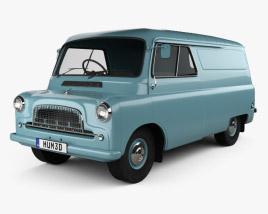 Bedford CA Panel Van 1965 3D model