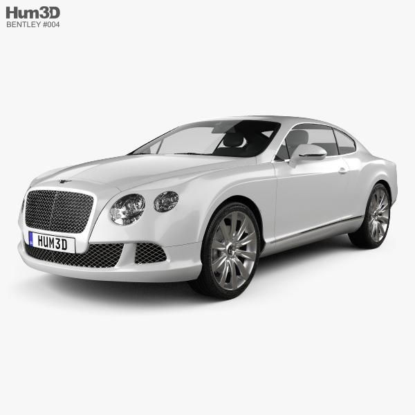 Bentley Continental GT 2012 3D Model