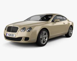 Bentley Continental GT 2007 3D model