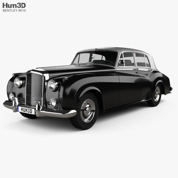 Bentley S1 1955 3d Model Hum3d