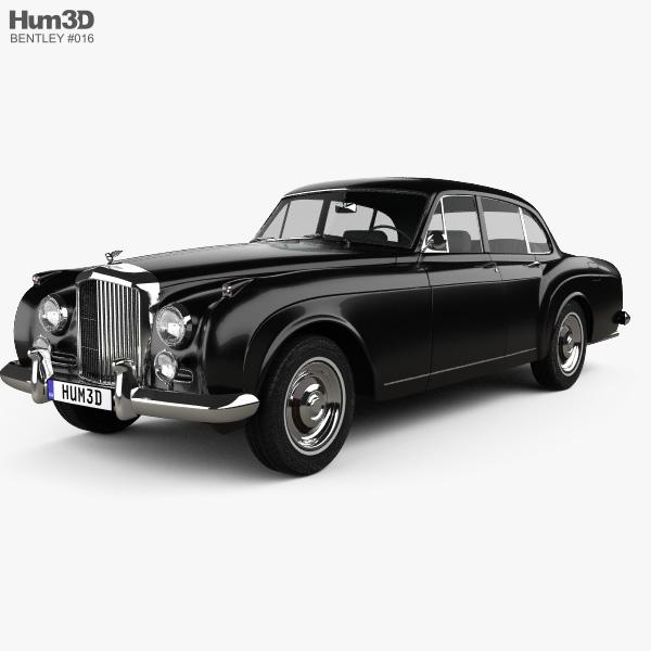 Modellbeschreibung Zum Bentley Continental Flying Spur: Bentley S2 Continental Flying Spur 1959 3D Model
