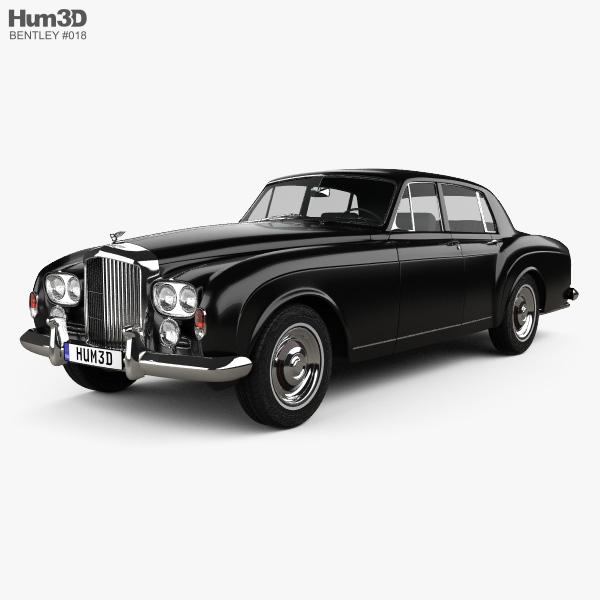 Modellbeschreibung Zum Bentley Continental Flying Spur: Bentley S3 Continental Flying Spur Saloon 1964 3D Model
