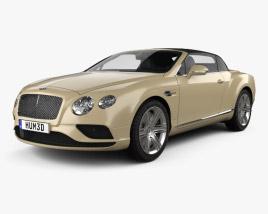 Bentley Continental GTC 2015 3D model