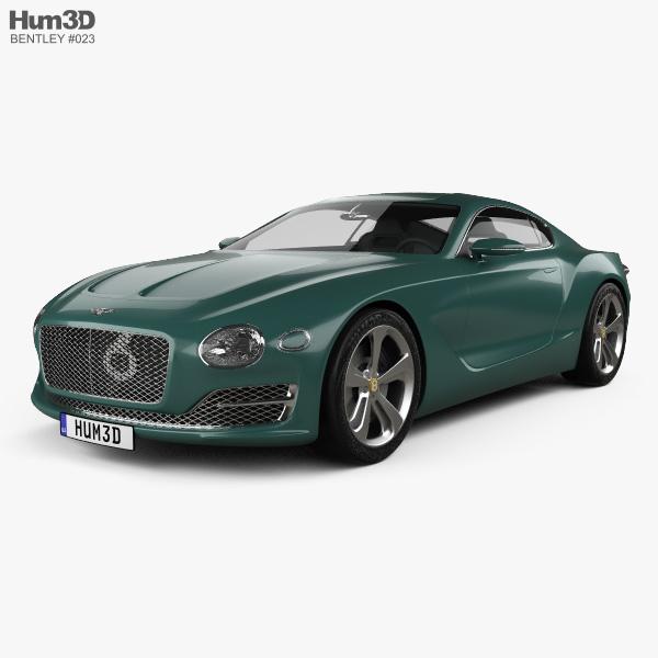 Bentley Exp 10 Speed 6 2015 3d Model Hum3d
