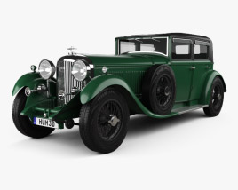 Bentley 8 Litre 1930 3D model