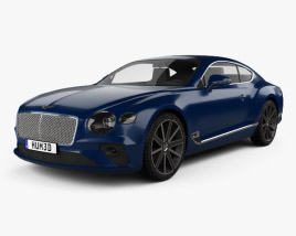 Bentley Continental GT 2018 3D model