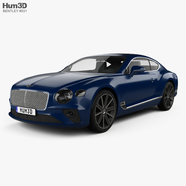 Bentley Continental Gt 2015: Bentley Continental 3D Models Download