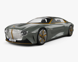 Bentley EXP 100 2019 3D model