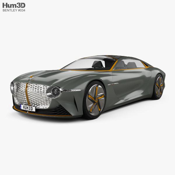 Top 100 2019 4runner Concept: Bentley EXP 100 2019 3D Model