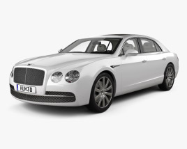Bentley Flying Spur with HQ interior 2014 3D model