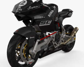 Bimota Vyrus 986 M2 2015 3D model