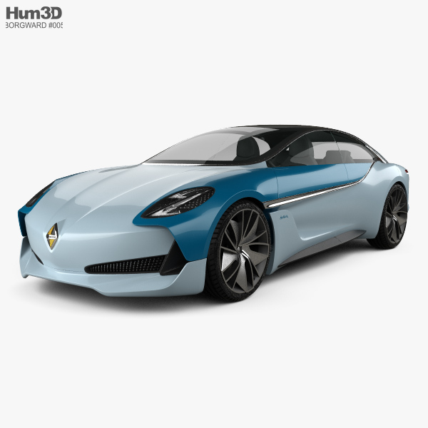 borgward isabella 2017 3d model vehicles on hum3d. Black Bedroom Furniture Sets. Home Design Ideas