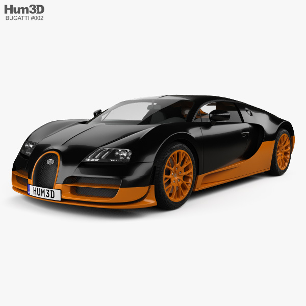 Bugatti Veyron Grand-Sport World-Record-Edition 2011 3D