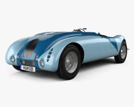 Bugatti Type 57G Tank 1936 3D model
