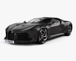 Bugatti La Voiture Noire 2019 3D model