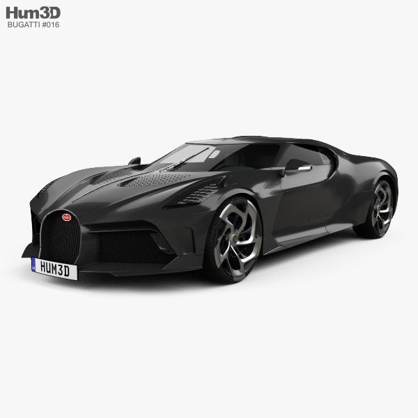 Bugatti 3D Models