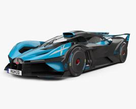 Bugatti Bolide 2021 3D model
