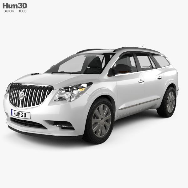 Buick Enlave: Buick Enclave 2013 3D Model