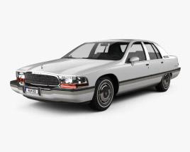 Buick Roadmaster sedan 1991 3D model