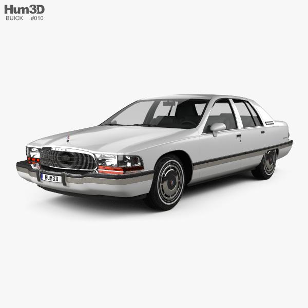 Buick Full Size Car: Buick Roadmaster Sedan 1991 3D Model