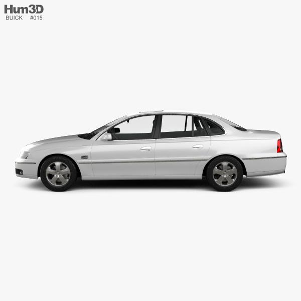 Buick Royaum 2006 3d Model Hum3d