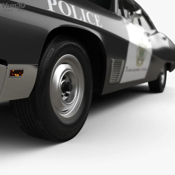 Buick Wildcat Police 1968 3D model