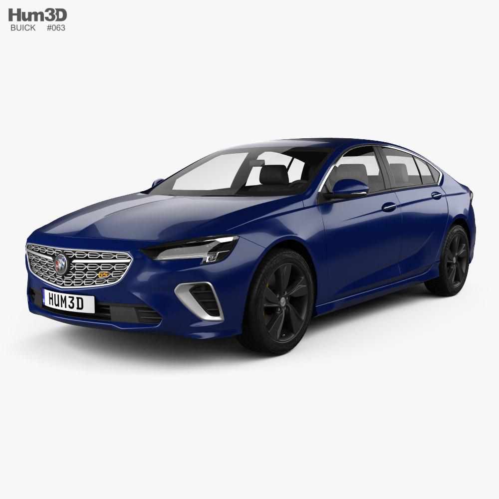 Buick Regal GS CN-spec 2020 3d model
