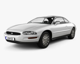 Buick Riviera 1995 3D model