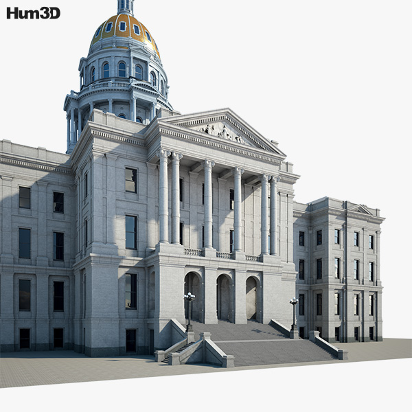 Colorado State Capitol 3D model