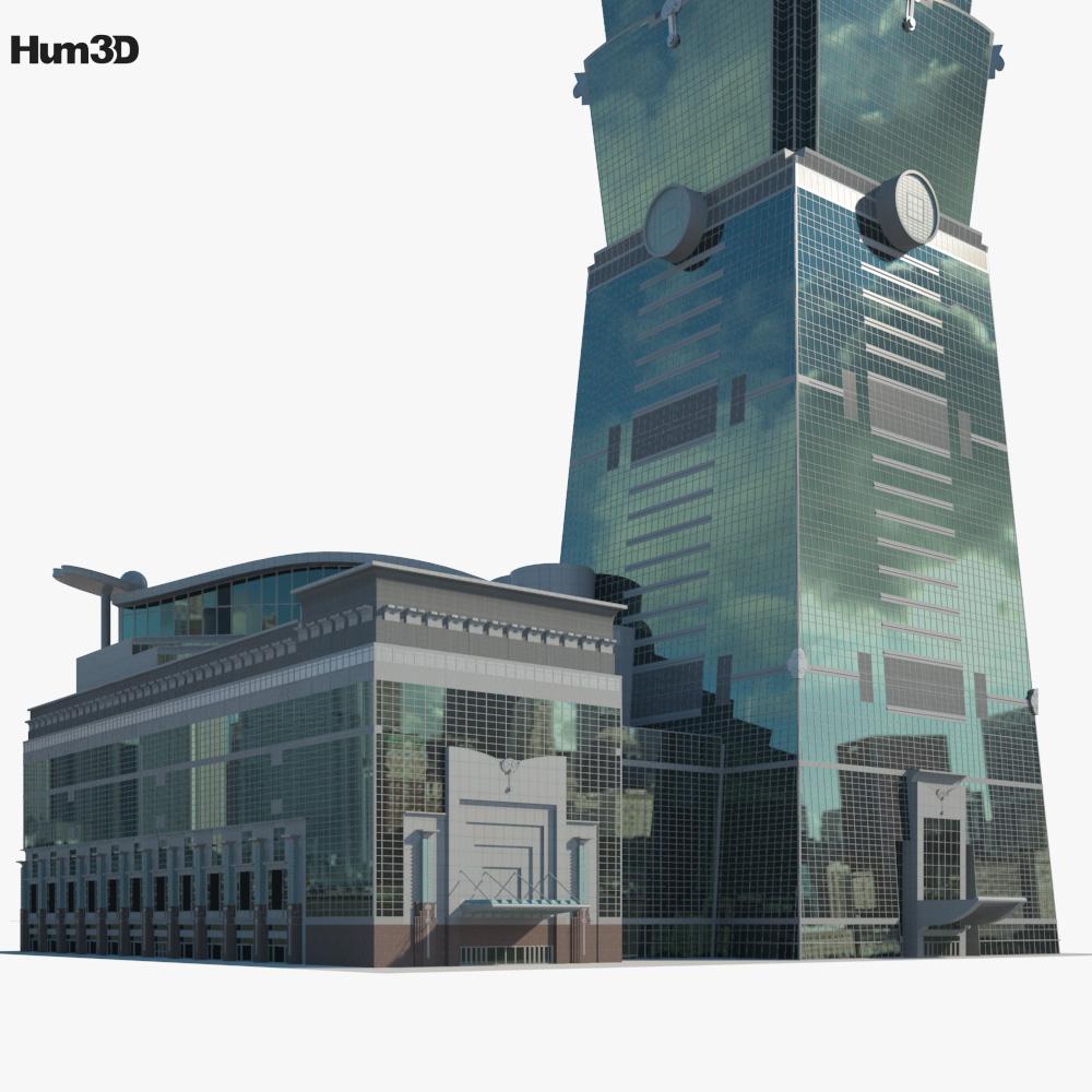Taipei 101 3d model