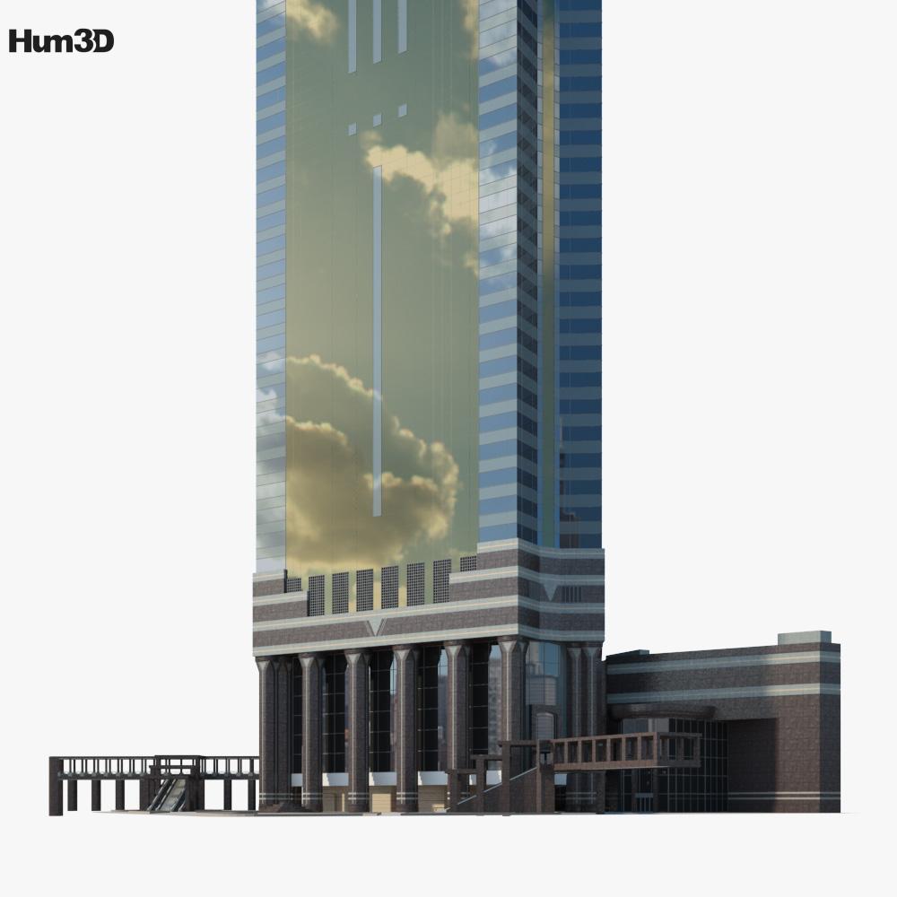 Central Plaza Hong Kong 3d model