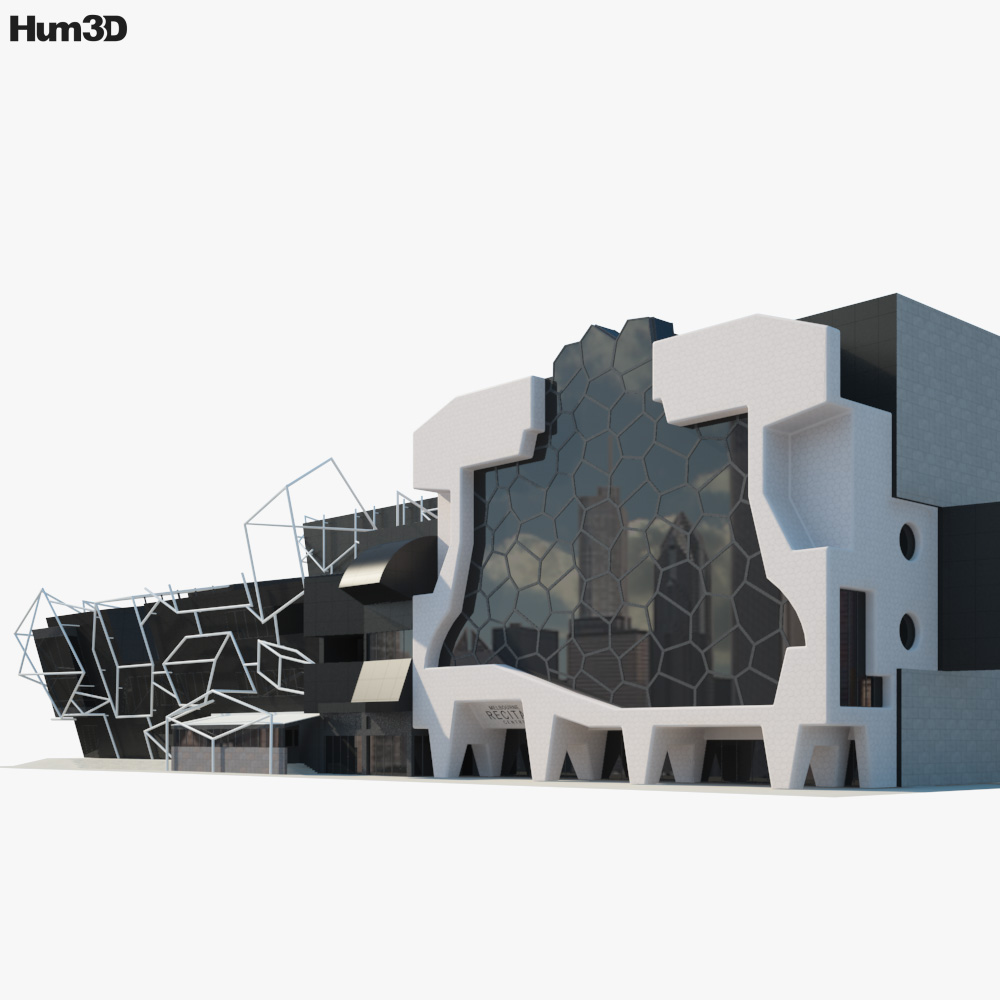 Southbank Theatre 3d model