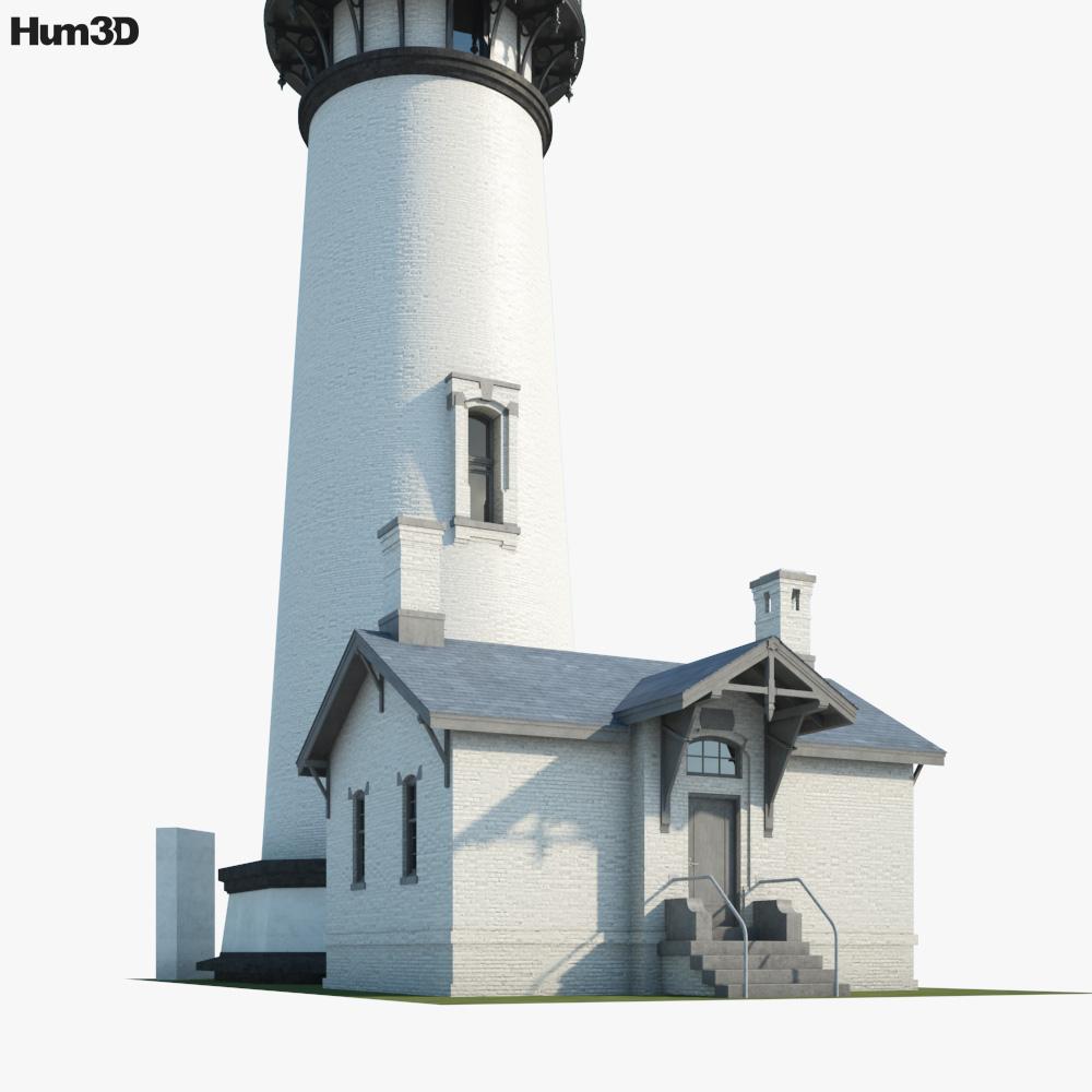Yaquina Head Lighthouse 3d model